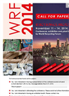 WRF 2014 Call for Papers - Brochure