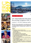 16th International Electronics Recycling Congress IERC 2017 - Call for Paper