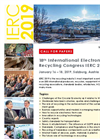 18th International Electronics Recycling Congress IERC 2019 - Brochure