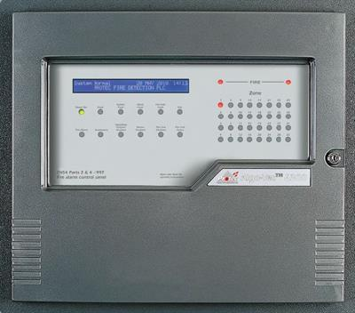 Protec Algo-Tec - Model 6300 - Interactive Digital Addressable Fire Detection and Alarm System