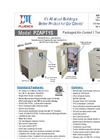 J&M Fluidics - Model PZAPT1S - Portable Air & Water Cooled Chillers Brochure