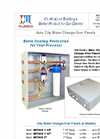 JM Fluidics - Auto City Water Change Over Panels Brochure