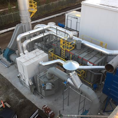 Emission Concentrator with Integrated Oxidizer-2