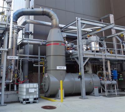 Direct Fired Thermal Oxidizer-2