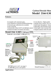 CO2 Monitor Model 2166- Brochure