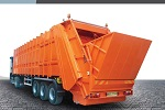 Rear Loading Waste Compactor Trailer