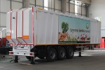 Top Loading Waste Compactor Trailer