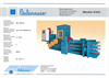 Model ESG - Balingpress Balers Brochure