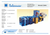 Model CMG - Balingpress Balers Brochure
