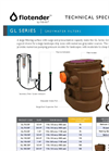 GL Series Flotender Systems - Specification Sheet