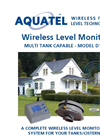 Aquatel D110-S Wireless Fluid Level Monitor Brochure