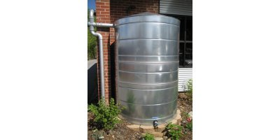 Model 400 Gallon - Stainless Rain Tank  sc 1 st  Environmental XPRT & 400 Gallon - Water Tanks - Stainless Steel Water Tanks - Stainless ...