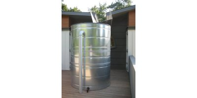 Model 300 Gallon - Stainless Rain Tank