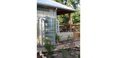 Model 150 Gallon - Stainless Rain Tank