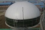 Anaerobic Digester for Biogas Plant