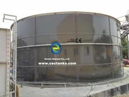 CEC Tanks - Model 30000 Gallon - Bolted Glass - Fused - to - Steel Tanks