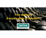 A Buyer's Guide to Shredders - Free webinar launched in association with CIWM