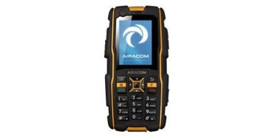 Airacom - Model Advantage 1 - Ultra Rugged Mobile Phone for Hazardous Areas