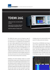TDEMI - Model 26G - High Speed Emission Measurement System Brochure
