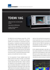 TDEMI - Model 18G - High Speed Emission Measurement System Brochure