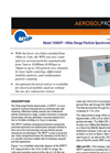 MSP - Model M1000XP - Wide Range Particle Spectrometer (WPS) Brochure