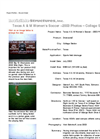 Texas A & M Women's Soccer --2003 Photos – College Station, Texas