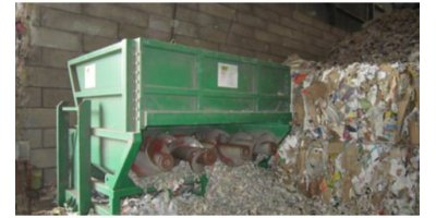 ACA - Bale Opener for Paper Bales