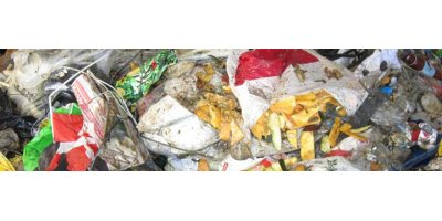 ACA - Crusher for Bag Opens for Recycling of Household Waste