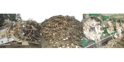 ACA - Crusher for Recycling of Wood - Pallets - Wood Waste