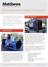 TodaySure - Self-Contained & Mobile Incinerators - Brochure
