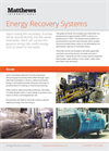 Energy Recovery Systems - Brochure