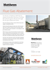 TodaySure Matthews - Flue Gas Abatement System - Brochure