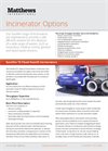 TodaySure Surefire - Incinerator Options - Brochure