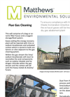 Flue Gas Cleaning Datasheet
