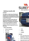 Matthews Surefire 100 Fixed Hearth Incinerators Datasheet