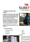 Matthews Surefire 150 Fixed Hearth Incinerators Datasheet