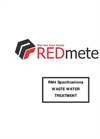 REDmeters - Model RM4 - Waste Water Treatment Density Meter - Brochure