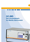 Model GC-IMS - Gas Chromatograph Ion Mobility Spectrometer Brochure