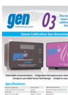 GENie - Model O3 - Ozone Calibration Gas Instrument- Brochure