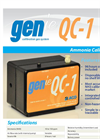 GENie - Model QC-1 - Ammonia Calibration Gas Instrument- Brochure