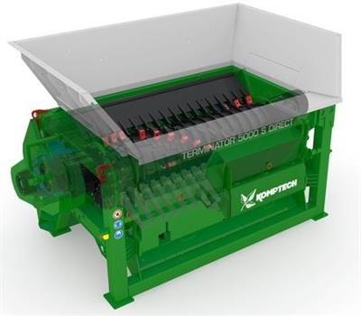 Komptech Terminator Direct - Single-Shaft Shredder for Pre-Shredding