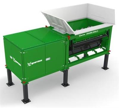 Komptech Crambo Stationary - Dual-Shaft Shredder for Wood and Green Waste