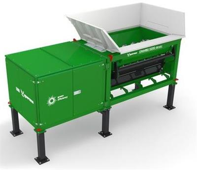 Komptech Crambo Direct Stationary - Dual-Shaft Shredder for Wood and Green Waste