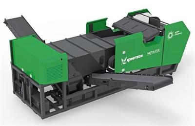 Komptech Metalfex - Non-Ferrous and Ferrous Metal Separator