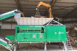 Komptech - Waste Wood Processing Plants
