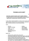 Model TZBI-SC302 - Industrial Aqueouis - Based Liquid Degreaser  Brochure