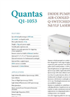 Quantas - Model 1053 Nd:YLF - Diode Pumped Q-Switched Laser Brochure