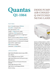 Quantas - Model 1064 Nd:YAG - Diode Pumped Q-Switched Laser - Brochure