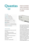 Quantum - Model Q2 - High Energy Diode Pumped Q-Switched Laser - Brochure