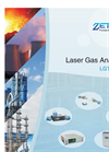 Laser gas analyzer
